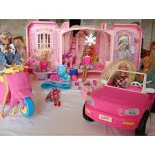barbie maison voiture