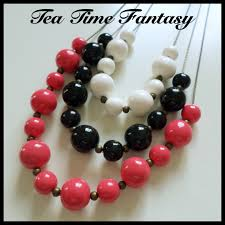 collier 3 rangs fimo