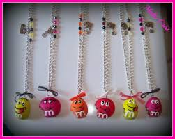 collier fimo gourmand
