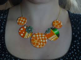 collier fimo montage