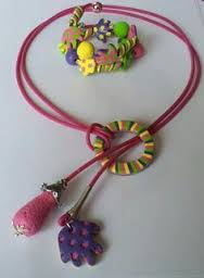 collier fimo pinterest