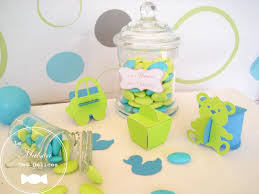 dragees turquoise et vert anis