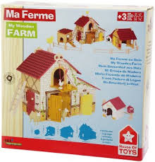 ferme en bois house of toys