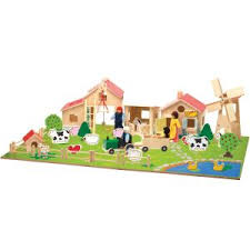 ferme en bois wood n play
