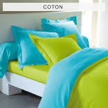 housse de couette turquoise vert anis