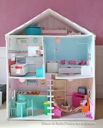 maison barbie diy