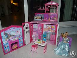maison glamour barbie transportable