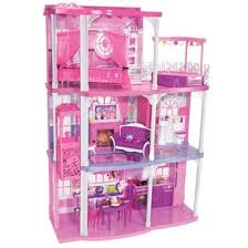 maison rose barbie mattel