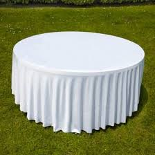 nappe table ronde 8 personnes