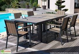 table jardin metal 8 personnes