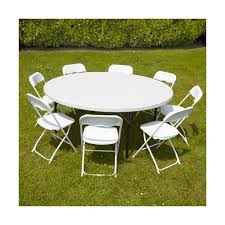table ronde jardin 8 personnes