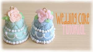 tutorial fimo wedding cake